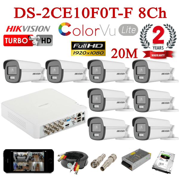 DS-2CE10F0T-F 8Ch