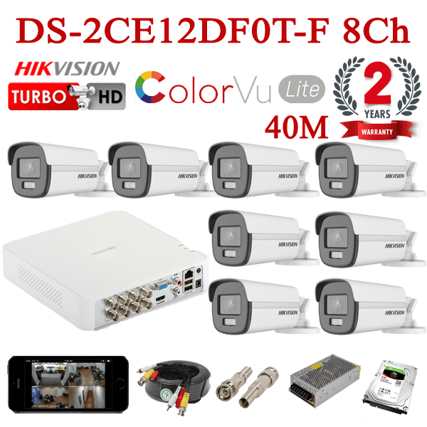 DS-2CE12DF0T-F 8Ch