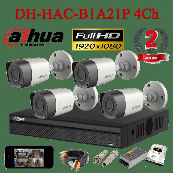DH-HAC-B1A21P 4Ch