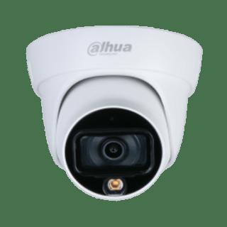 DH-HAC-HDW1209TLQP-LED-DAHUA 2MP-20M FULL-COLOR STARLIGHT HDCVI EYEBALL CCTV CAMERA
