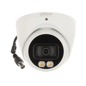 DH-HAC-HDW1209TQ-A-LED-DAHUA 2MP-40M FULL-COLOR STARLIGHT HDCVI EYEBALL CCTV CAMERA