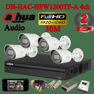 DH-HAC-HFW1200TP-A 4ch