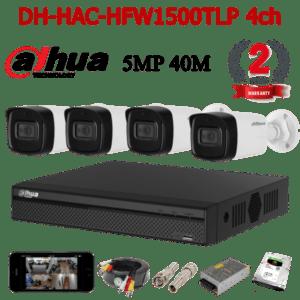 DH-HAC-HFW1500TLP 4ch