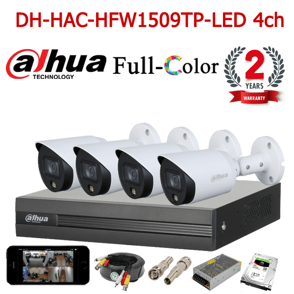 DH-HAC-HFW1509TP-LED 4ch