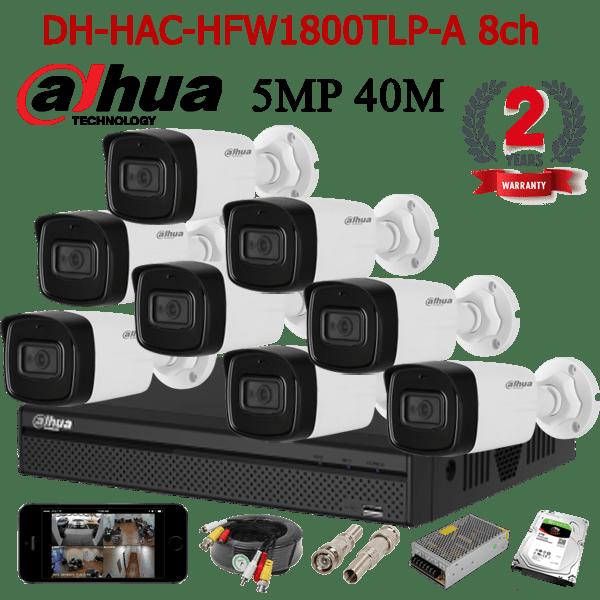 DH-HAC-HFW1800TLP-A 8ch