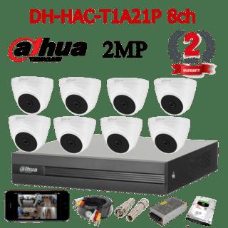 DH-HAC-T1A21P 8ch