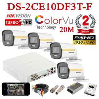DS-2CE10DF3T-F 4CH