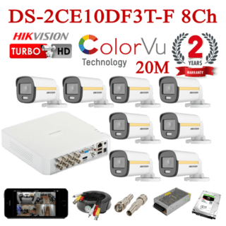 DS-2CE10DF3T-F 8Ch