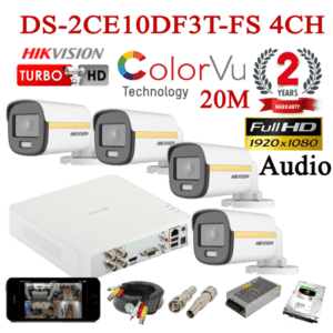 DS-2CE10DF3T-FS 4CH