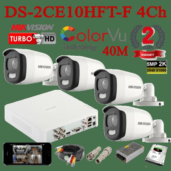 DS-2CE10HFT-F 4Ch