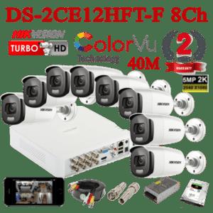DS-2CE12HFT-F 8Ch