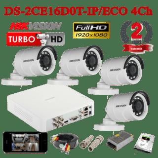 DS-2CE16D0T-IP/ECO 4Ch