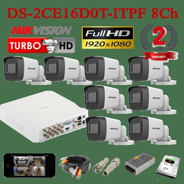 DS-2CE16D0T-ITPF 8Ch