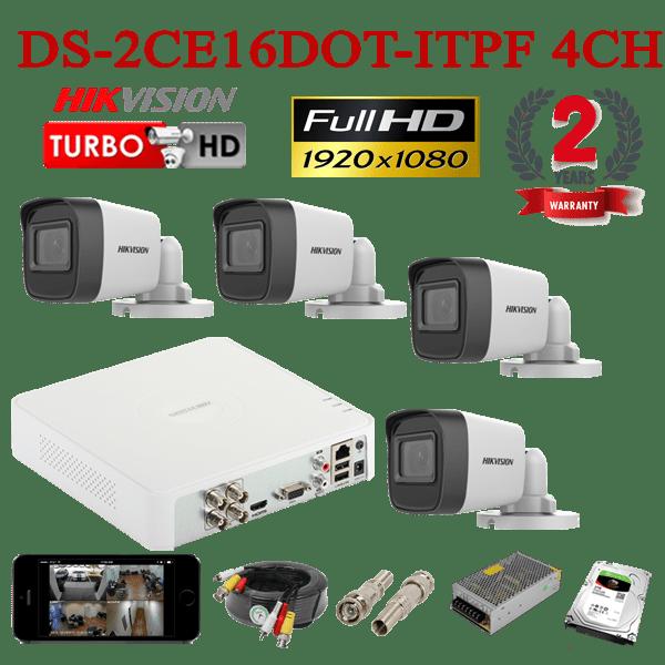 DS-2CE16DOT-ITPF 4CH