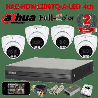 HAC-HDW1209TQ-A-LED 4ch