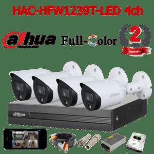 HAC-HFW1239T-LED 4ch