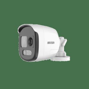 DS-2CE12DFT-PIRXOF-Hikvision 2MP 40M ColorVu PIR Siren Fixed Bullet Camera