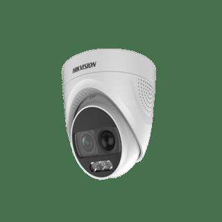 DS-2CE72DFT-PIRXOF-Hikvision 2MP 20M ColorVu PIR Siren Fixed Turret Camera