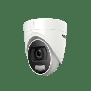 DS-2CE72HFT-F-Hikvision 5MP 20M ColorVu Fixed Turret Camera