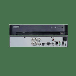 DS-7204HQHI-K1/P- Hikvision 4-ch 1080p 1U H.265 PoC DVR